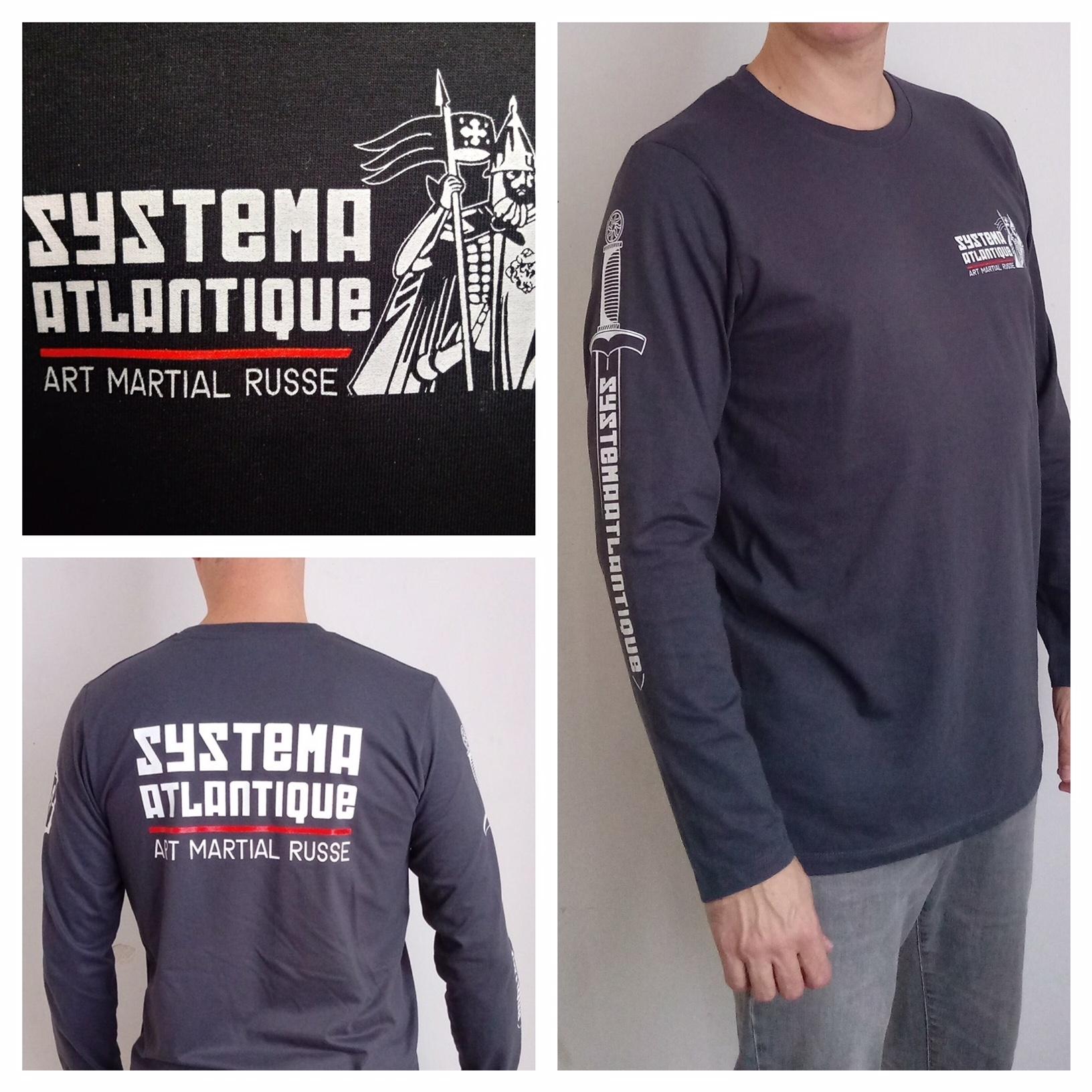 tshirt systema atlantique nantes